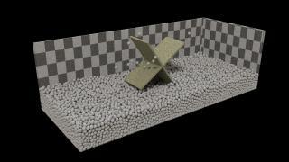 砂や流体を作る時に使う『molecular』 その1【Blenderの便利なアドオンを超簡単に紹介】