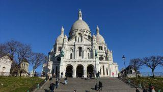 Basilique du Sacré-Cœur de Montmartre (モンマルトルのサクレ・クール寺院)