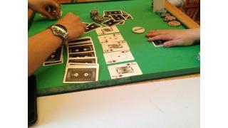 ポーカー(テキサスホールデム)が面白い。