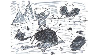 「ゴキブリ版、蜘蛛の糸」(創作)(小説)