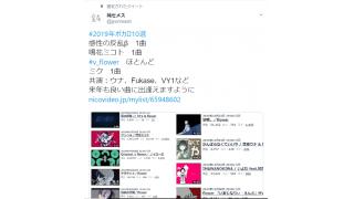 【独断】純セメスの2019年ボカロ10選、選考理由【偏見】