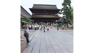 土日は長野へ行っていました。西之門