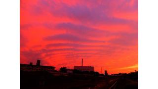 FujiFilm X-20で夕焼け雲の撮影