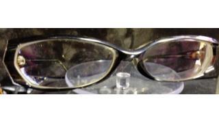 趣味のメガネ 黒メガネ