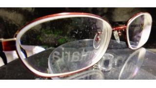 メガネ ガラスのレンズ