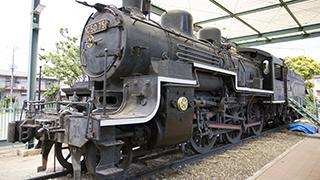 【静態保存車】C5075 蒸気機関車に会いに行ってきた。