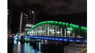 夜の勝鬨橋