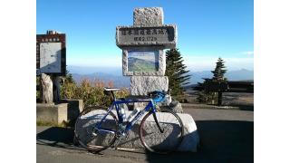 渋峠にロードで行ってきた。