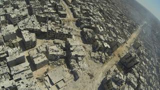 空から見るシリアの激戦区ホムスの現実…荒廃した写真の数々が衝撃的過ぎる