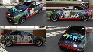Forza5:ヤマノススメのデザイン、完成!