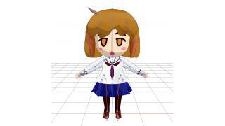 【3DCG】へちょ絵「琴浦さん」 その6