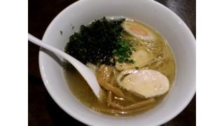 [ラーメン]20131004 麺者服部