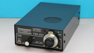 【動画】アイテック電子研究所 6m QRP AM トランシーバー(TRX-501)(2020.01.01)