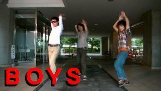 BoysがGirls踊ってみたので代理投稿した
