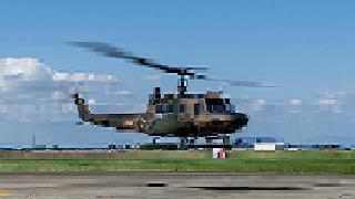 日々の記録:α7(ILCE-7)最後のお仕事「UH-1体験搭乗」
