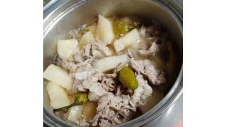 簡単【大根と豚肉の煮物】作り方//Boiled radish and pork