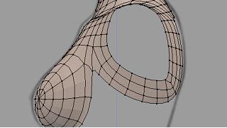 Blenderでモデリング(上半身)
