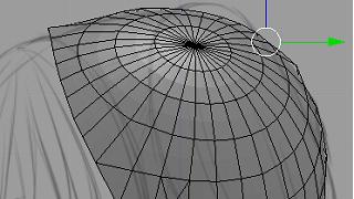 Blenderでモデリング(髪3)
