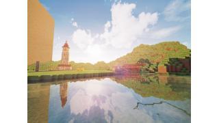 "【Minecraft建築企画】256×256の海と山の街 ""ランシュマ"" 2峰目"