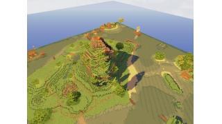 【Minecraft建築企画】128×128 world【PvP最終模擬戦での変更点】