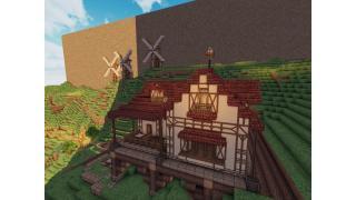 "【Minecraft建築企画】256×256の海と山の街 ""ランシュマ"" 6峰目"