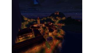"【Minecraft建築企画】256×256の海と山の街 ""ランシュマ"" 8峰目"