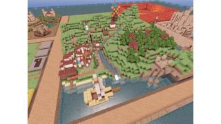 "【Minecraft建築企画】256×256の海と山の街 ""ランシュマ"" 9峰目"