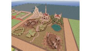 "【Minecraft建築企画】128×128の教会墓地 ""名称未定"" 2基目"