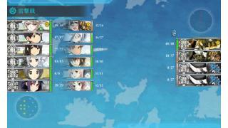 【艦これ】E-5-1レベリング【MI作戦】