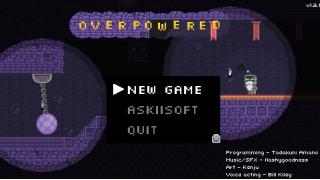 「OverPowered」レビュー 著:abgl #フリーゲーム