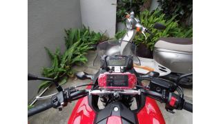 バイクにPSPのカーナビを搭載しよう!
