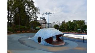 東京都品川区しながわ区民公園のベンチ