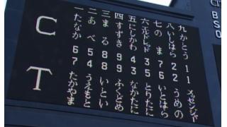 【5/5~7 阪神】●●● 中継ぎ陣見直しの時