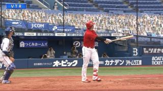 【6/20 DeNA】長野勝ち越し&誠也グラスラで終盤の集中力見せつけ開幕連勝