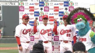 【3/27 2位】広6-3De ○ 連日の逆転勝ち!今回の主役は若手たち!