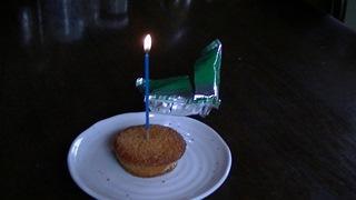一人で誕生日を祝う