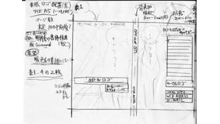 同人小説制作日記 2/24 表紙&ロゴ配置案制作