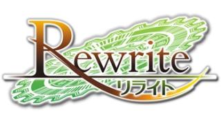 壁]v・)<PSVita「Rewrite」感想