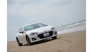 BRZで千里浜なぎさドライブウェイに行ってきました。