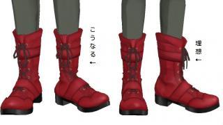 ブーツ上部を自動で足首の回転に追従させる