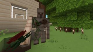 [マイクラ日誌] あなたが摘んで来てくれたの? #minecraft
