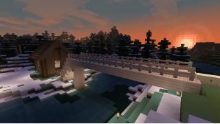 [マイクラ日誌] 雪国進出 #minecraft