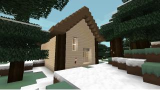 [マイクラ日誌] ツンドラ建設 #minecraft