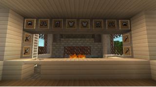 [マイクラ日誌] 鍛冶屋 #minecraft