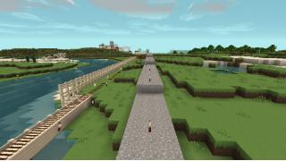 [マイクラ日誌] 散歩道延長 #minecraft