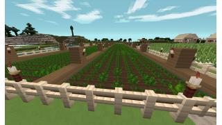 [マイクラ日誌] 農夫生活やってます