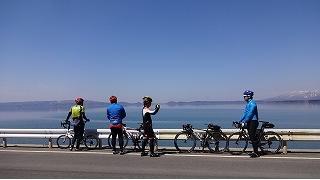 2014年冬の自転車活動とか
