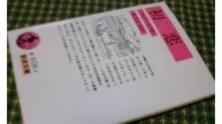 「初恋(ツルゲーネフ著 米川正夫訳)」メモ