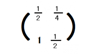 行列を復習してみる6(行列の掛け算と分配法則)