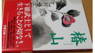「椿山(乙川優三郎著)」